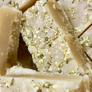 Lemon and Elderflower Fudge
