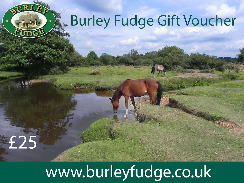 Burley Fudge Gift Voucher