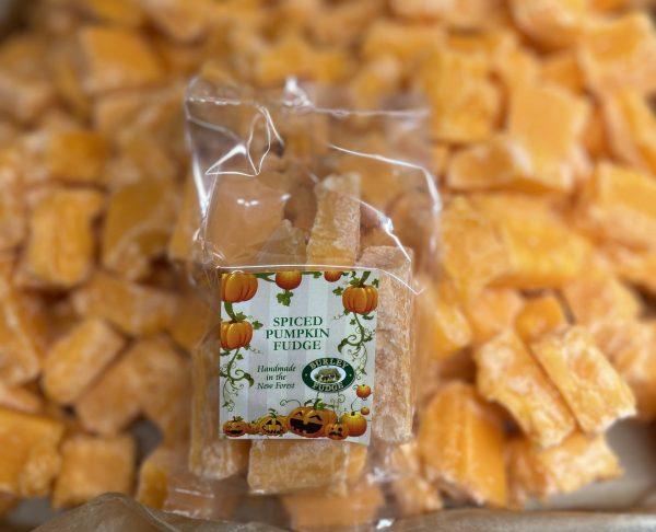 Spiced Pumpkin Fudge