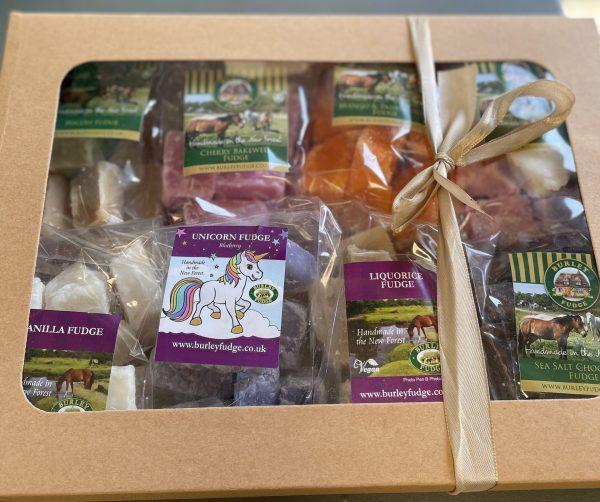 8 Flavour Vegan Fudge Gift Box